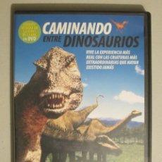 Cine: DVD CAMINANDO ENTRE DINOSAURIOS. Lote 113036639