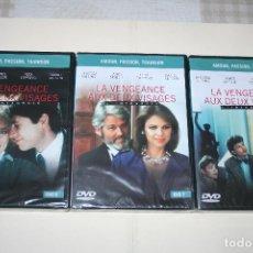 Series de TV: LOTE Nº 2: LA VENGEANCE AUX DEUX VISAGES *** CINE SERIE EN FRANCÉS *** 3 DVD PRECINTADOS *** . Lote 113349723