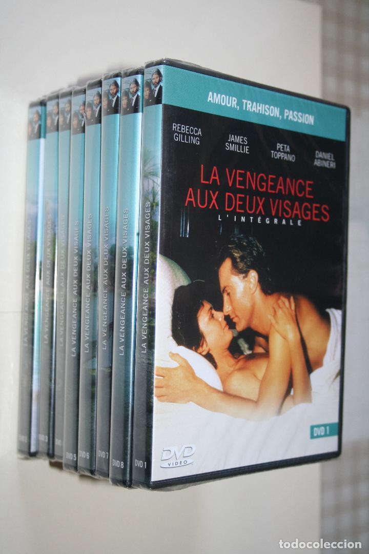 LA VENGEANCE AUX DEUX VISAGES *** CINE SERIE EN FRANCÉS *** 8 DVD PRECINTADOS *** (Series TV en DVD)