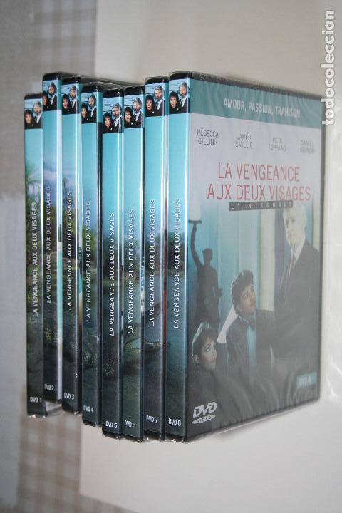 Series de TV: LA VENGEANCE AUX DEUX VISAGES *** CINE SERIE EN FRANCÉS *** 8 DVD PRECINTADOS *** - Foto 2 - 113402887