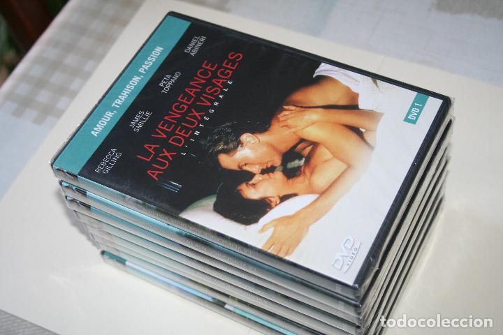 Series de TV: LA VENGEANCE AUX DEUX VISAGES *** CINE SERIE EN FRANCÉS *** 8 DVD PRECINTADOS *** - Foto 3 - 113402887