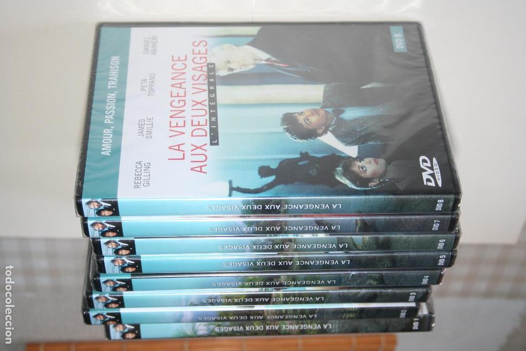Series de TV: LA VENGEANCE AUX DEUX VISAGES *** CINE SERIE EN FRANCÉS *** 8 DVD PRECINTADOS *** - Foto 4 - 113402887