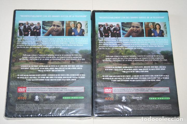Series de TV: LA VENGEANCE AUX DEUX VISAGES *** CINE SERIE EN FRANCÉS *** 8 DVD PRECINTADOS *** - Foto 6 - 113402887