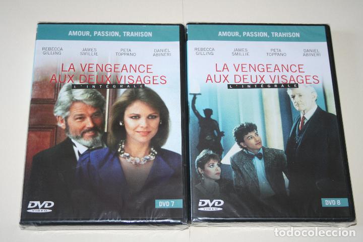 Series de TV: LA VENGEANCE AUX DEUX VISAGES *** CINE SERIE EN FRANCÉS *** 8 DVD PRECINTADOS *** - Foto 11 - 113402887