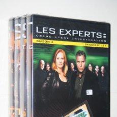 Series de TV: LES EXPERTS CSI ( 4ª TEMPORADA) *** 4 DVD SERIES EN FRANCÉS *** PRECINTADOS *** TENGO MUCHAS MÁS. Lote 113403327
