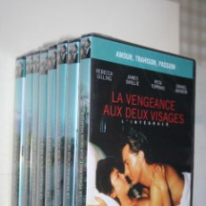 Series de TV: LA VENGEANCE AUX DEUX VISAGES *** CINE SERIE EN FRANCÉS *** 8 DVD DIFERENTES Y CORRELATIVOS PRECINTA. Lote 113404195