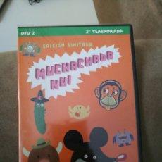 Series de TV: DVD MUCHACHADA NUI SEGUNDA TEMPORADA EDICIÓN LIMITADA PRECINTADO. Lote 113913770