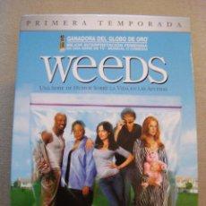 Series de TV: SERIE COMPLETA DE WEEDS EN CASTELLANO 16 DVD'S. USA 2005. EN MAGNIFICO ESTADO, VISTA SOLO UNA VEZ.. Lote 114343431
