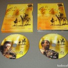 Series de TV: EL QUIJOTE DE MIGUEL DE CERVANTES - 2 DVD - EDICION RTVE COMERCIAL - FERNANDO REY - ALFREDO LANDA ... Lote 190207702