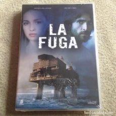 Cine: LA FUGA DVD CON MARÍA VALVERDE Y AITOR LUNA **SERIE COMPLETA EN 4 DVD** *NUEVA Y PRECINTADA*. Lote 115274583