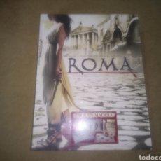 Cine: TEMPORADA DOS COMPLETA, ROMA, EDICIÓN LIMITADA 5 DVD'S, PACK EN MADERA NUEVO SIN ABRIR NI ESTRENAR. Lote 115436618
