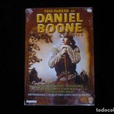 Series de TV: DANIEL BOONE PARTE 6, 5 DVD'S 18 EPISODIOS DE LA 4 TEMPORADA - NUEVO PRECINTADO. Lote 115872159