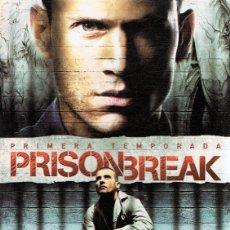 Series de TV: PRISON BREAK 1ª TEMPORADA (6 DVD). Lote 116090987