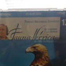 Series de TV: CDS12/ FAUNA IBERICA//12//EL HOMBRE Y LA TIERRA. Lote 116200315