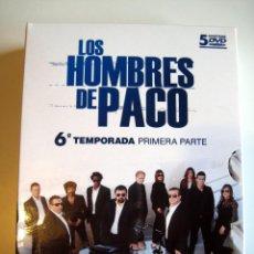 Cine: LOS HOMBRES DE PACO (TEMPORADA 6 PARTE 1) • DVD (DESCATALOGADO DIGIPAK) EMON/SAV. Lote 116261127