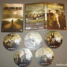 Series de TV: THE WALKING DEAD ( SEGUNDA TEMPORADA COMPLETA ) - 5 DISCOS - AVALON - EDICION FNAC. Lote 116281947