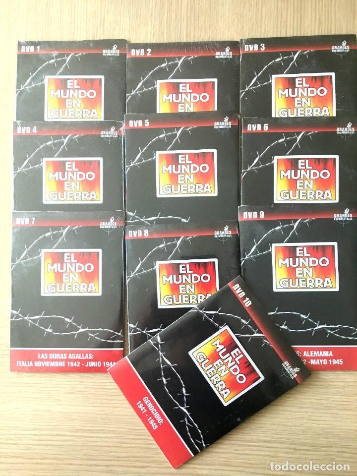 EL MUNDO EN GUERRA - LOTE 10 DVDS PRECINTADOS - DEL 1 AL 10 (Series TV en DVD)