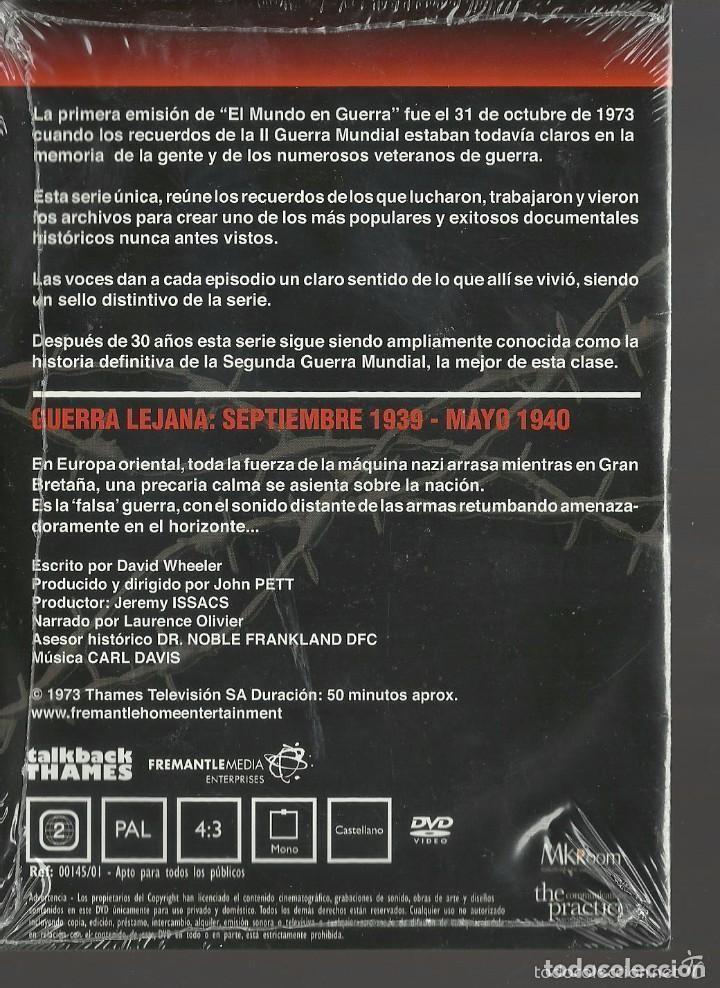 Series de TV: EL MUNDO EN GUERRA - LOTE 10 DVDS PRECINTADOS - DEL 1 AL 10 - Foto 3 - 116349507