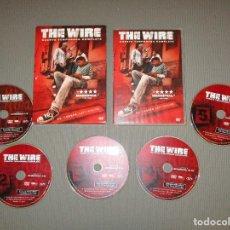 Cine: THE WIRE ( CUARTA TEMPORADA COMPLETA ) - DVD - WARNER BROS. Lote 116463431