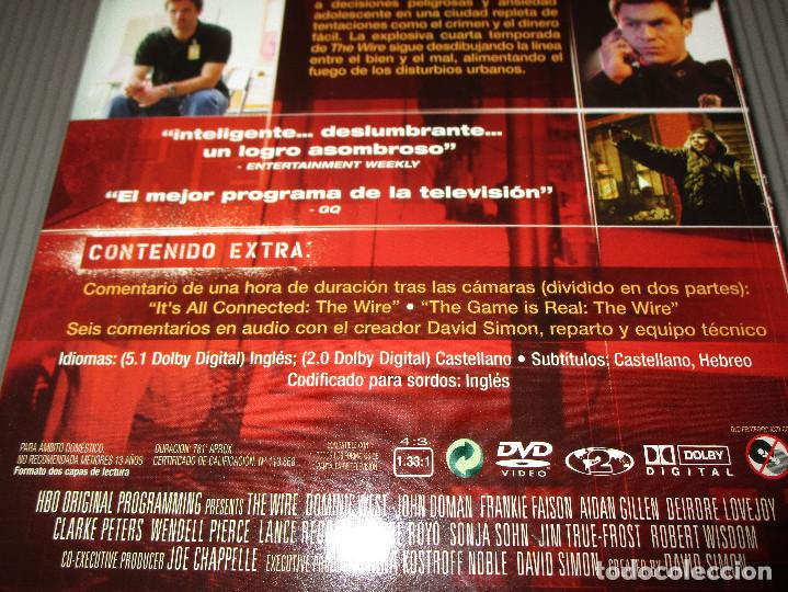 the wire ( cuarta temporada completa ) - dvd - - Comprar Series de ...