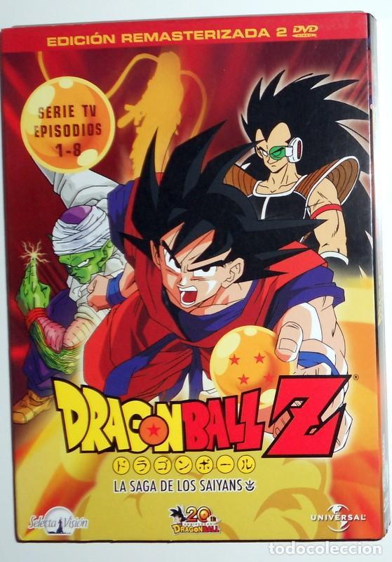 DRAGON BALL Z 20 ANIVERSARIO EDICION REMASTERIZADA SIN CENSURA SERIE TV EPISODIOS 1-8.SELECTA VISION (Series TV en DVD)
