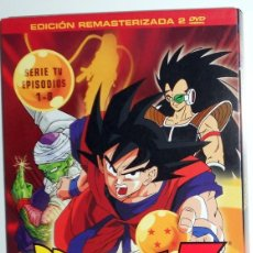 Series de TV: DRAGON BALL Z 20 ANIVERSARIO EDICION REMASTERIZADA SIN CENSURA SERIE TV EPISODIOS 1-8.SELECTA VISION. Lote 116483623