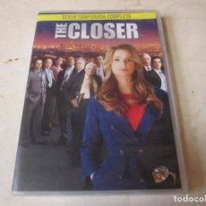 Series de TV: THE CLOSER - SEXTA (6) TEMPORADA COMPLETA - 3 DVDS. Lote 131320127