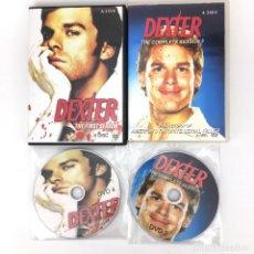 Series de TV: DEXTER MORGAN PRIMERA Y SEGUNDA TEMPORADA DVD - COMPRADO EN ASIA - CON SUBTITULOS - ASESINO EN SERIE. Lote 116574051