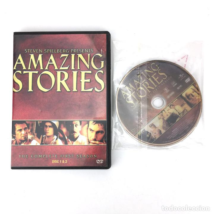 CUENTOS ASOMBROSOS / AMAZING STORIES STEVEN SPIELBERG - PRIMERA TEMPORADA  DVD - ASIA SERIE TV - LEER