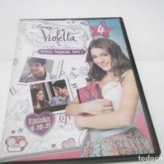Series de TV: DVD DISNEY VIOLETA 4 .PRIMERA TEMPORADA PARTE 1 . EPISODIOS 9-10-11. Lote 117172635
