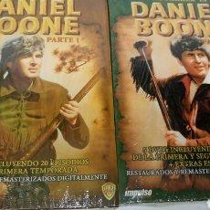 Series de TV: DANIEL BOONE, PRIMERA Y SEGUNDA TEMPORADAS COMPLETAS.. Lote 117613372