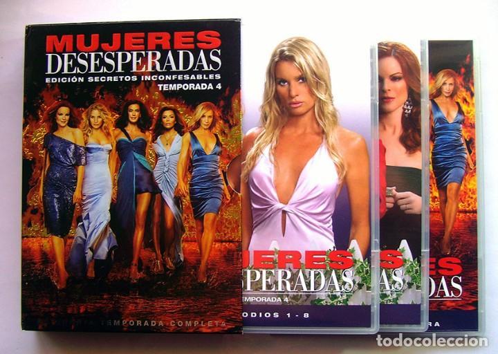 MUJERES DESESPERADAS - CUARTA TEMPORADA . EN 3 DVD