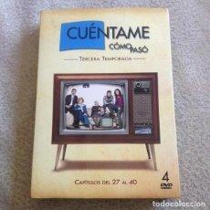 Series de TV: CUENTAME COMO PASÓ DVD **TERCERA TEMPORADA COMPLETA EN 4 DVD**. Lote 118212155
