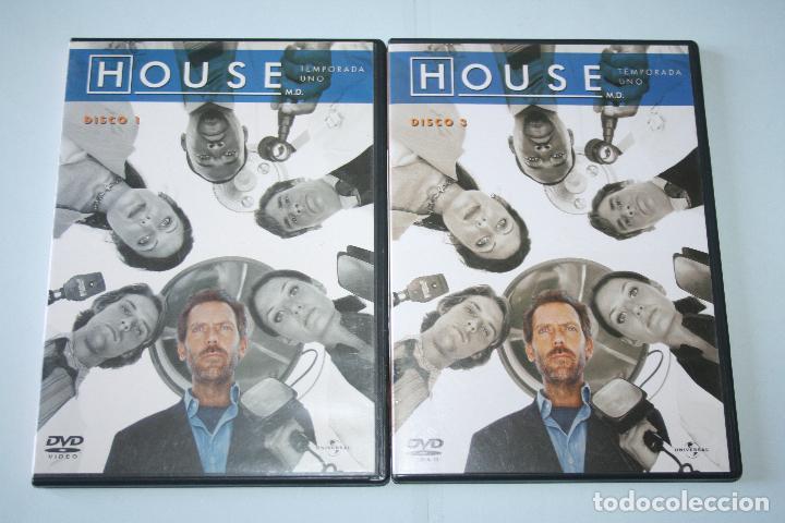 HOUSE (TEMPORADA 1) DISCO Nº 1 YNº 3 *** 2 DVD CINE SERIE TV *** UNIVERSAL *** (Series TV en DVD)