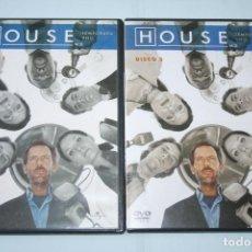 Series de TV: HOUSE (TEMPORADA 1) DISCO Nº 1 YNº 3 *** 2 DVD CINE SERIE TV *** UNIVERSAL ***. Lote 118264875