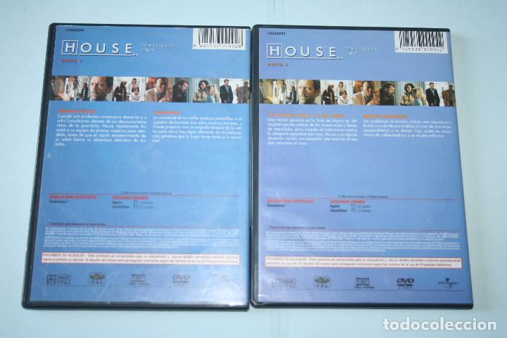 Series de TV: HOUSE (temporada 1) disco nº 1 ynº 3 *** 2 DVD CINE SERIE TV *** UNIVERSAL *** - Foto 2 - 118264875