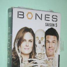 Series de TV: BONES (TEMPORADA 5 COMPLETA) *** BOX 6 DVD CINE EN INGLÉS / FRANCÉS *** PRECINTADOS. Lote 118285195