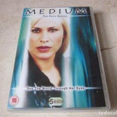 Series de TV: MEDIUM - THE FITH SEASON - 5 DVDS - PARAMOUNT 2011. Lote 118316731