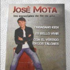 Series de TV: JOSE MOTA. LOS ESPECIALES DE FIN DE AÑO. CIUDADANO KIEN. ES BELLO VIVIR. CON EL VERTIGO EN LOS TALON. Lote 118768059