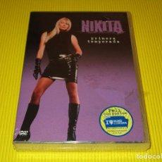 Series de TV: NIKITA ( PRIMERA TEMPORADA ) - DVD - EDICION Z4 Y22554 - WARNER BROS - PRECINTADA. Lote 118821719