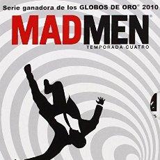 Cine: MAD MEN. TEMPORADA 4. 4 DVD. Lote 118931003