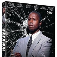Cine: HOMICIDIO. VOLUMEN 3. CONTIENE TRES DVD. . Lote 119060755