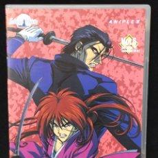 Series de TV: KENSHIN - EL GUERRERO SAMURAI - DVD VOL 6. Lote 119298943