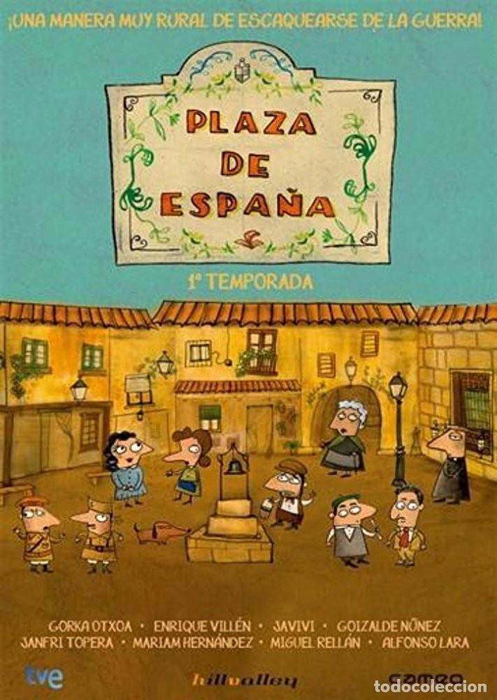PLAZA DE ESPAÑA * 1ª TEMPORADA * 2-DVD * MUCHACHADA NUI * PRECINTADO (Series TV en DVD)