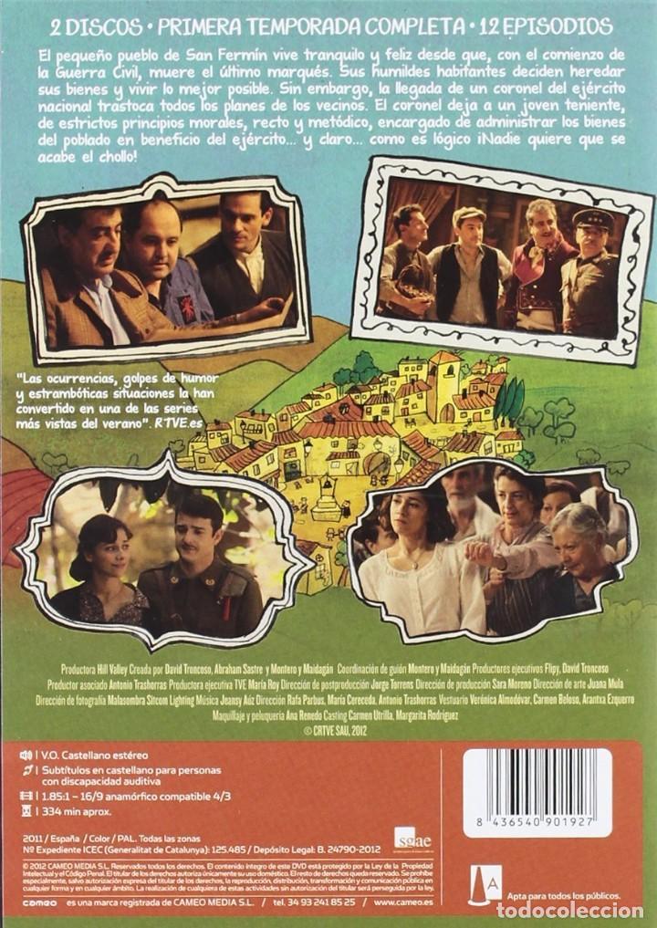 Series de TV: PLAZA DE ESPAÑA * 1ª temporada * 2-DVD * Muchachada nui * Precintado - Foto 2 - 119553255