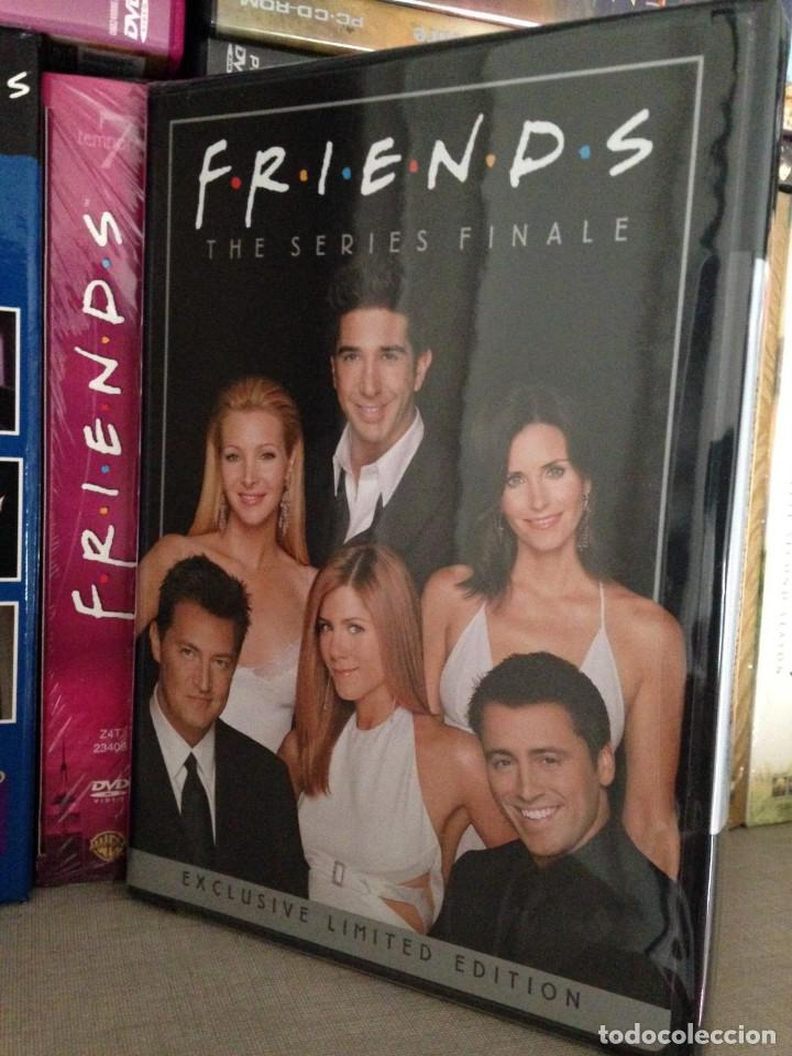 Series de TV: FRIENDS (SERIE COMPLETA 10 TEMPORADAS + DVD USA 'SERIES FINALE') - Foto 2 - 120712387