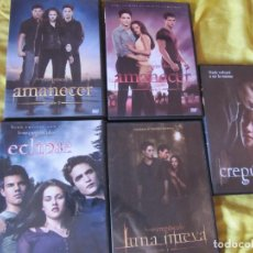 Series de TV: SAGA CREPUSCULO 5 DVDS. Lote 121099219
