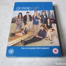 Series de TV: GOSSIP GIRL - THE COMPLETE THIRD (3) SEASON DVD - 5 DVDS - WARNER BROS. 2010. Lote 121197755