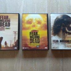 Series de TV: DVD. FEAR THE WALKING DEAD. TEMPORADAS 1-3. LEER DESCRIPCIÓN.. Lote 121381822