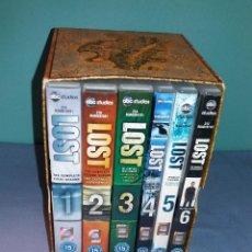 Series de TV: COLECCION COMPLETA DE LA SERIE LOST (PERDIDOS) EN INGLES ORIGINALES EXCELENTE ESTADO. Lote 121423519
